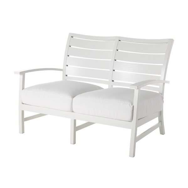 Charleston Loveseat with Cushions by Summer Classics
