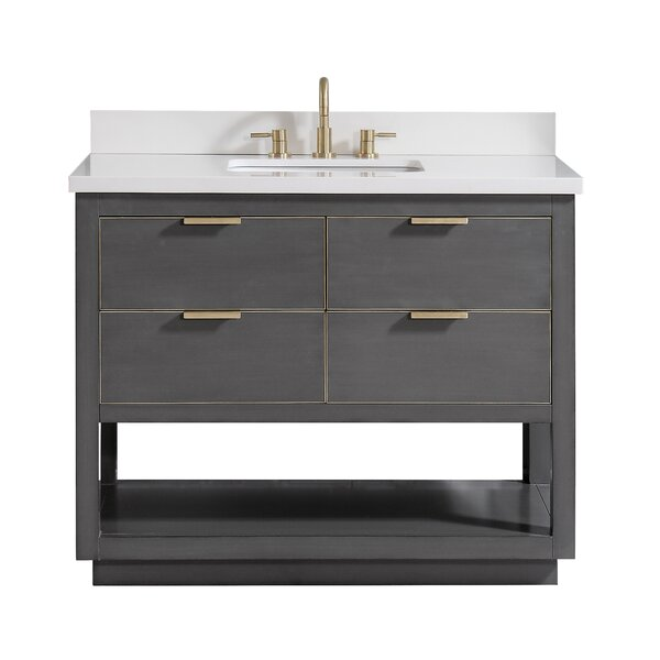 Fincher 36 Single Bathroom Vanity Set by Everly QuinnFincher 36 Single Bathroom Vanity Set by Everly Quinn