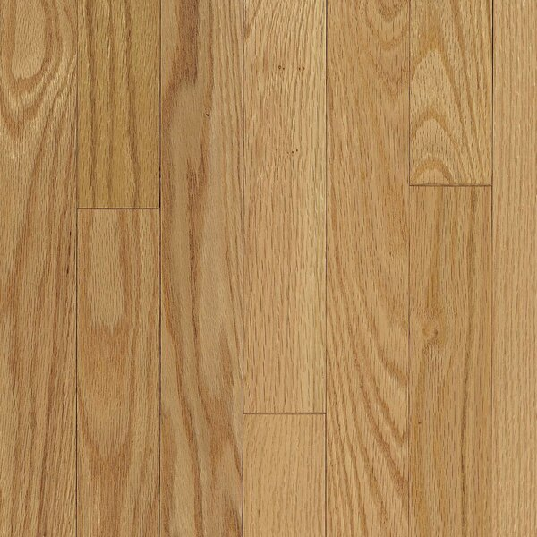 Ascot Strip 2-1/4 Solid Oak Hardwood Flooring in Natural by Armstrong Flooring