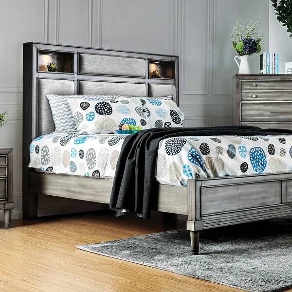 Julia Upholstered Standard Bed by Everly Quinn