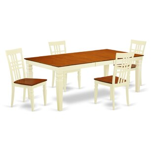 Beesley 5 Piece Wood Dining Set By Darby Home Co