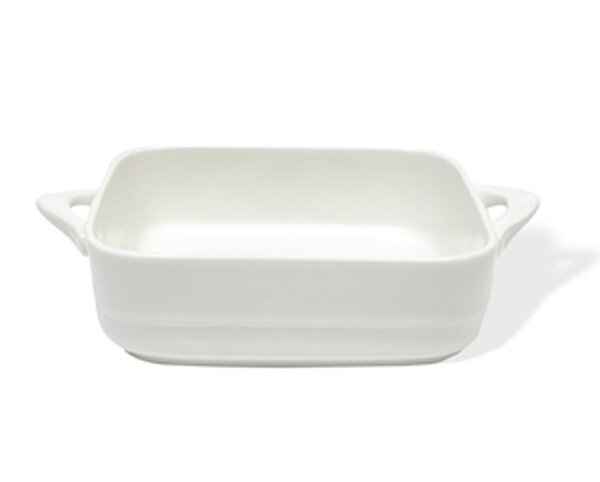 White Basics Oven Chef Square Baker (Set of 2) by Maxwell & Williams