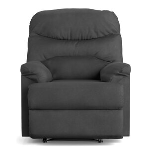 Millicent Chaise Manual Wall Hugger Recliner by Andover Mills