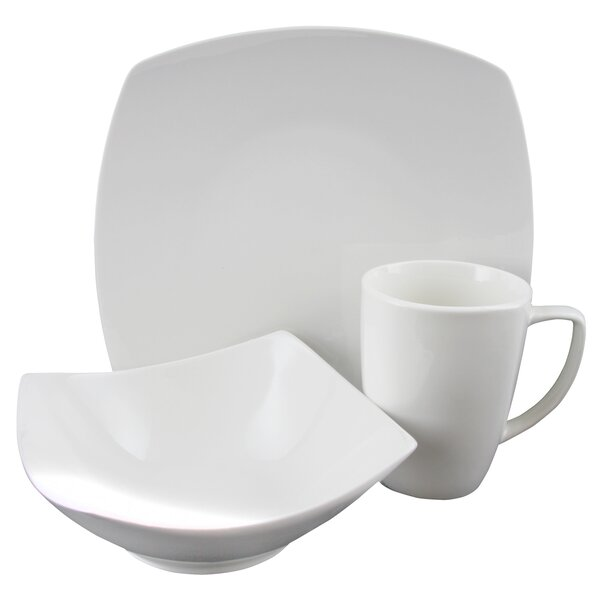 Weigle 12 Piece Dinnerware Set, Service for 4 by Latitude Run