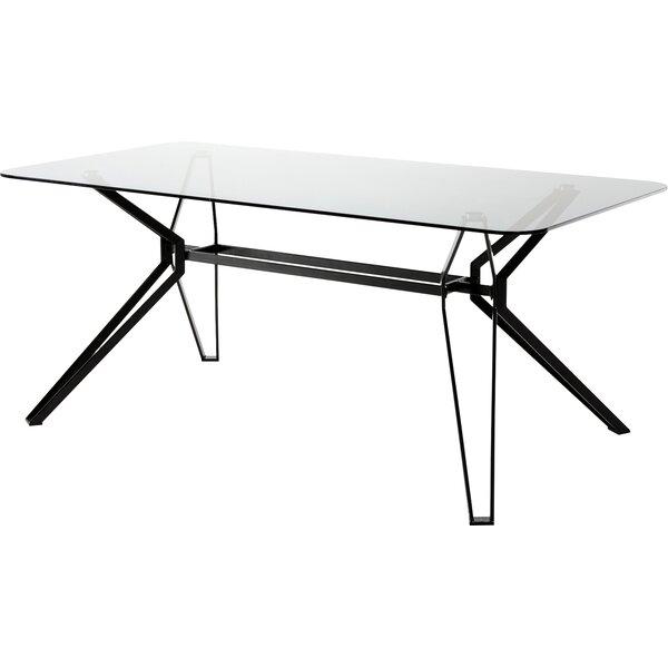 Camron Metal Base Dining Table by Orren Ellis