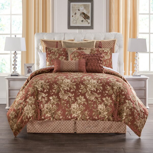 Devlin 4 Piece Comforter Set by Marquis by Waterford