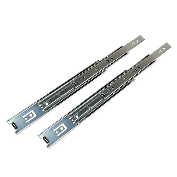 Ball Bearing Bottom Side Mount Drawer Slide (Set of 2) by South Main Hardware
