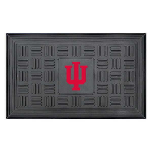 NCAA Indiana University Medallion Door Mat by FANMATS