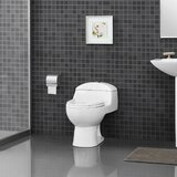 Pleasant Bisque Toilet Wayfair Unemploymentrelief Wooden Chair Designs For Living Room Unemploymentrelieforg