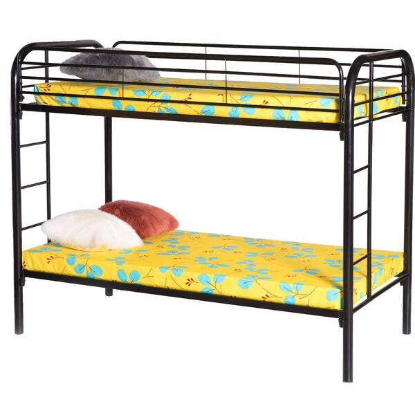 Westlund Metal Twin Over Twin Over Twin Bunk Bed by Isabelle & Max