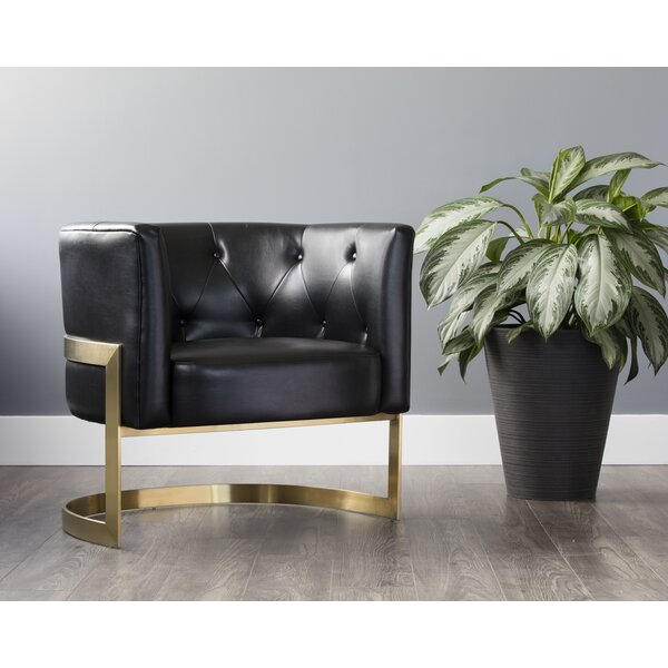 Dolby Barrel Chair by Everly Quinn