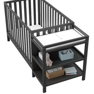 Pacific 3-in-1 Convertible Crib and Changer Combo