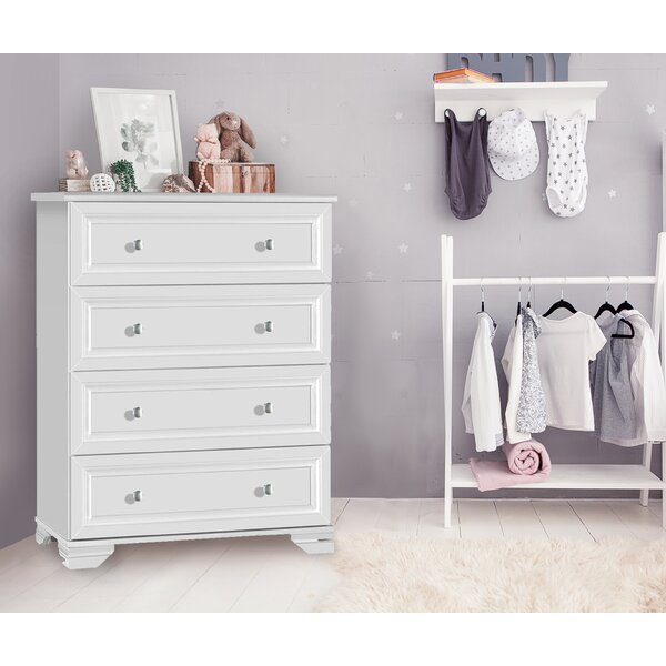 Essex 4 Drawer Chest by Harriet Bee