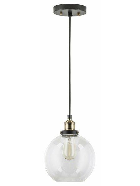 Bundy 1-Light Bowl Pendant by Mercury Row