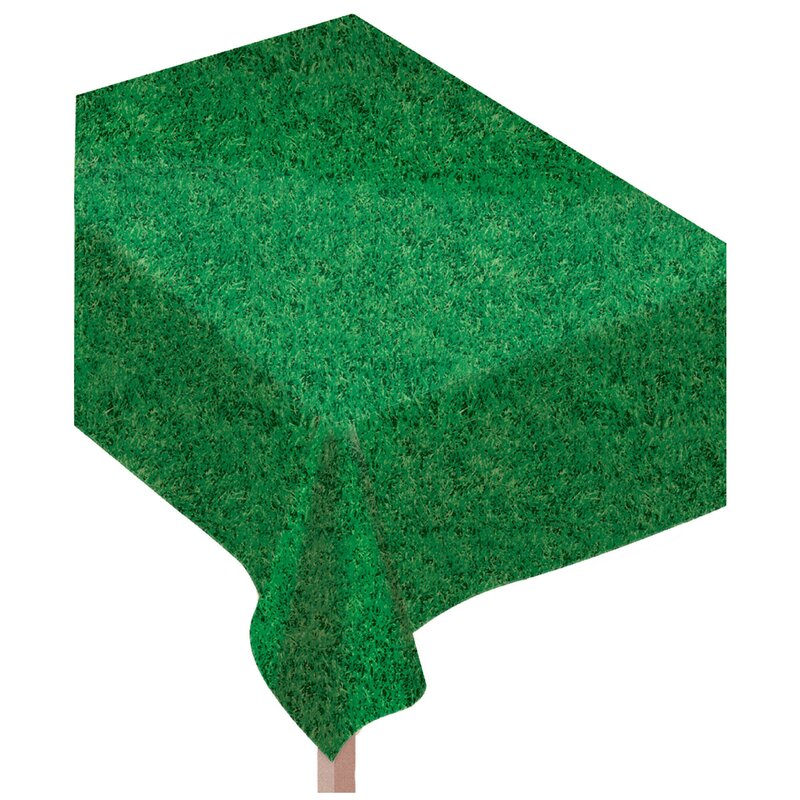 Grass Vinyl Flannel Backed Tablecloth