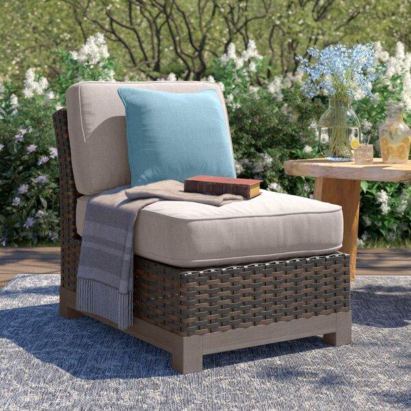 Eibhlin Patio Chair with Cushion by Bayou Breeze Bayou Breeze