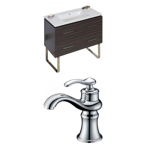 Kyra Modern 36 Single Bathroom Vanity Set with 2 Drawers by Orren Ellis
