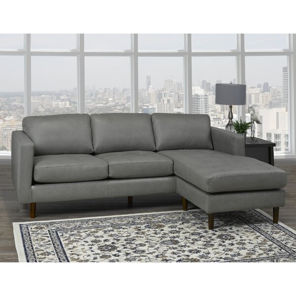 Boettcher Leather Sectional by Corrigan Studio