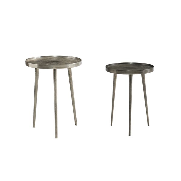 Lex 2 Piece Nesting Tables by Bernhardt