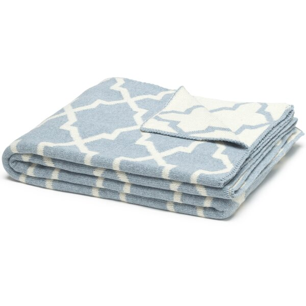 Eco Designer Morocco Reversible Throw Blanket by In2Green