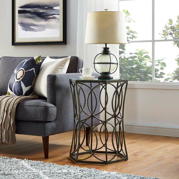 Bolser Circle End Table by Orren Ellis