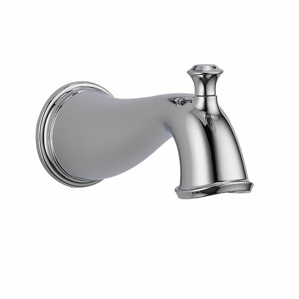 Cassidy Wall Mounted Tub Spout Trim with Diverter by Delta Delta