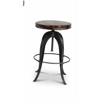 Terrific Grigor Adjustable Height Swivel Bar Stool Gamerscity Chair Design For Home Gamerscityorg