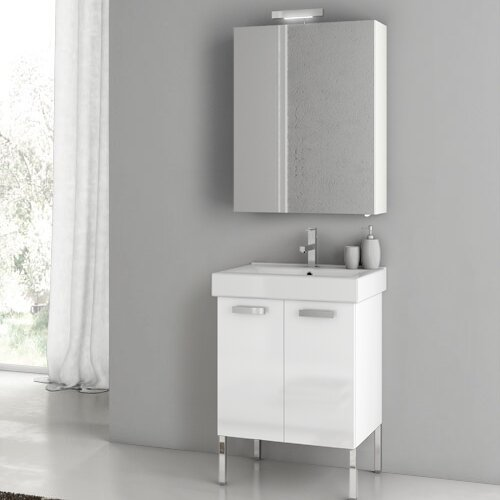 Cubical 24 Single Bathroom Vanity Set by ACF Bathroom Vanities