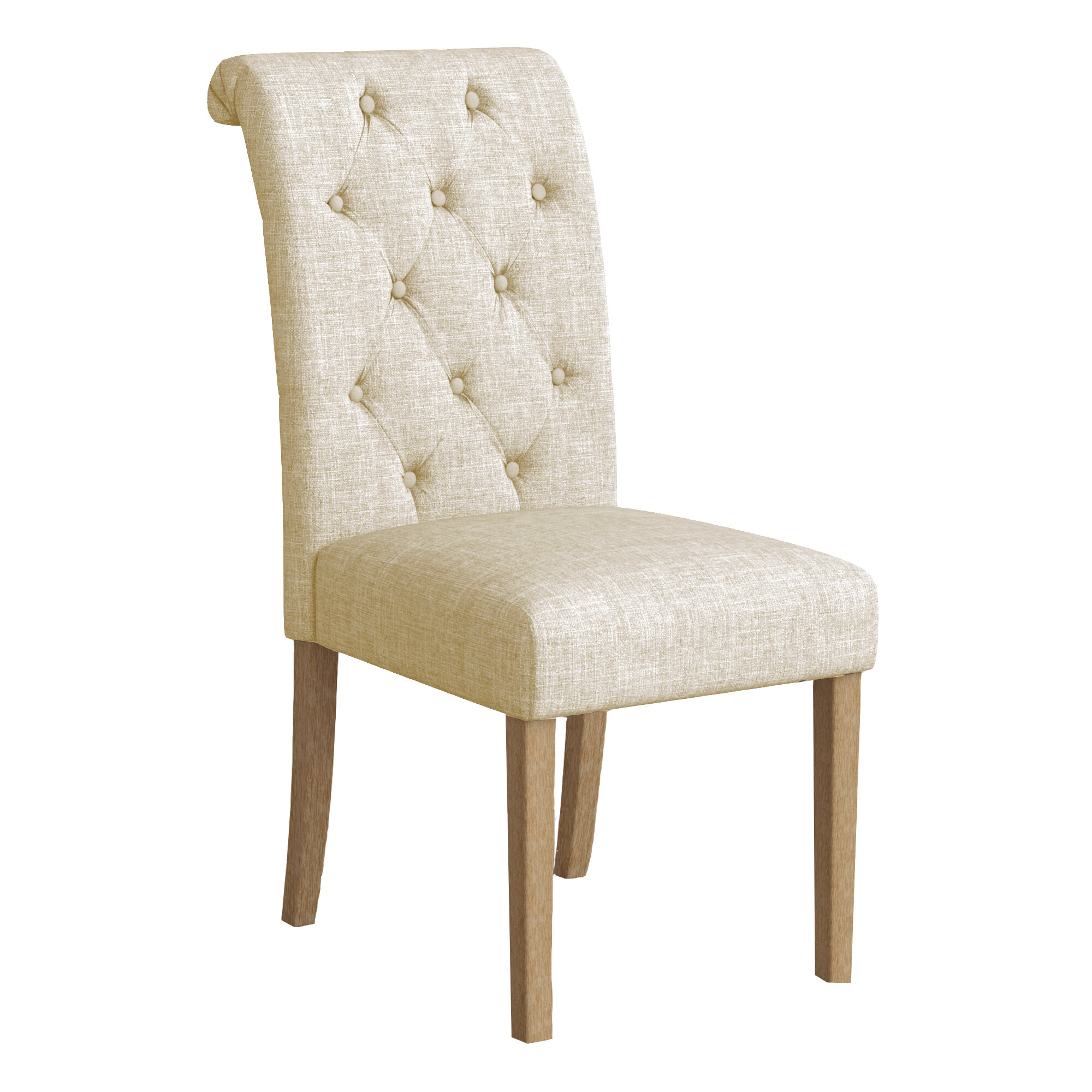 Mistana Charlotte Upholstered Dining Chair U0026 Reviews | Wayfair