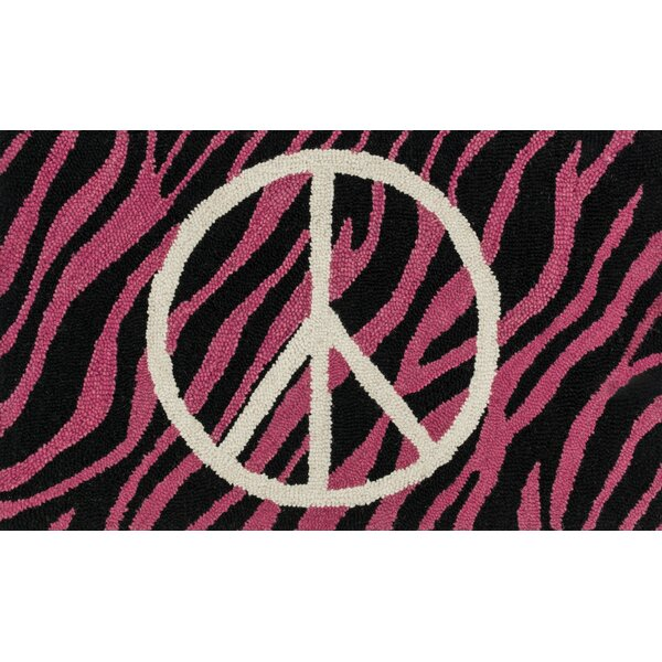 Jimerson Pink/Ivory Area Rug by Zoomie Kids
