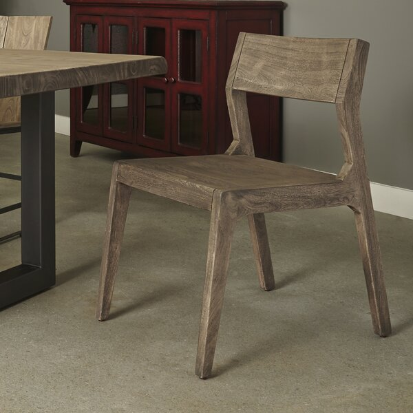 Speedwell Solid Wood Dining Chair (Set of 2) by Union Rustic