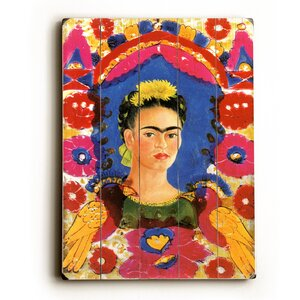 'Mexico Frida Kahlo Senorita Fiesta Poster' Graphic Art by Artehouse LLC