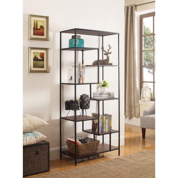 Review Aislinn Geometric Bookcase
