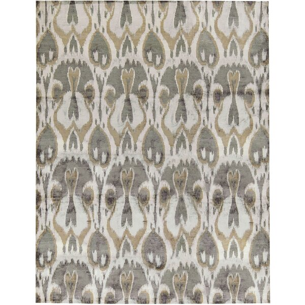 One-of-a-Kind Modern Hand-Knotted Gray/Brown Area Rug by Bokara Rug Co., Inc.