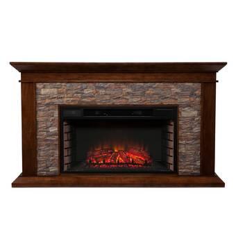 Frederick 7740e Co Chestnut Oak Electric Fireplace Just