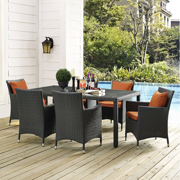 Tripp 7 Piece Dining Set by Brayden Studio