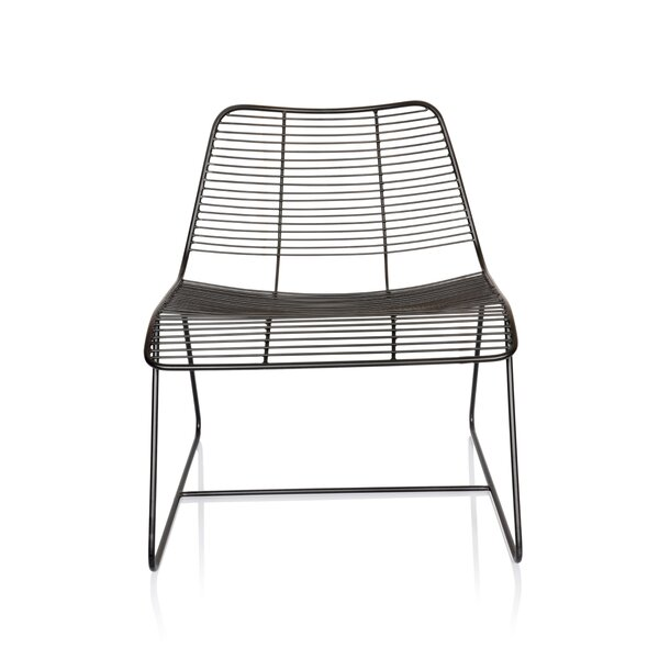 New York Metal Linear Side Chair by Fashion N You by Horizon Interseas
