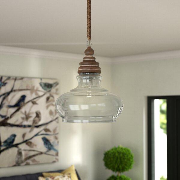 Maelle 1-Light Bell Pendant by Laurel Foundry Mode