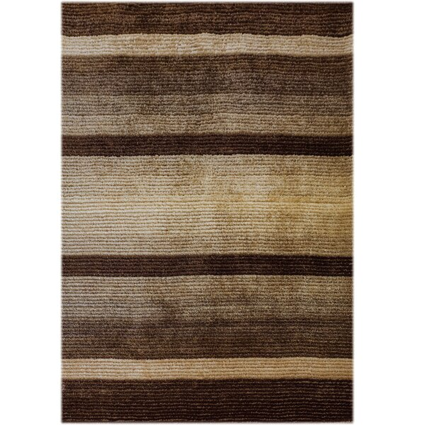 Jack Hand-Tufted Brown Area Rug by OceanBridge
