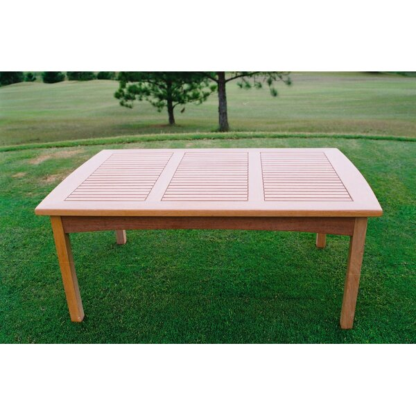 Tangier Solid Wood Coffee Table by Pomegranate Solutions, LLC Pomegranate Solutions, LLC