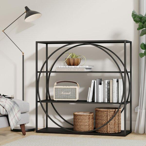 Nordland Echo Geometric Bookcase By Wrought Studio
