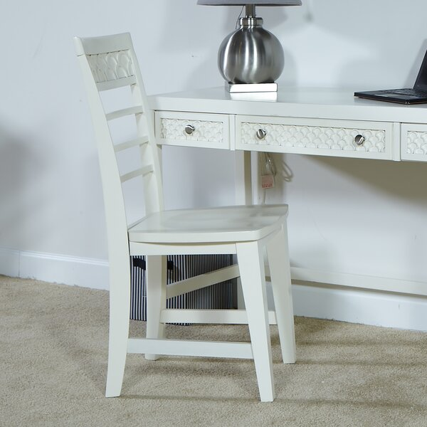 Amanda Ladder Back Side Chair by My Home Furnishings My Home Furnishings