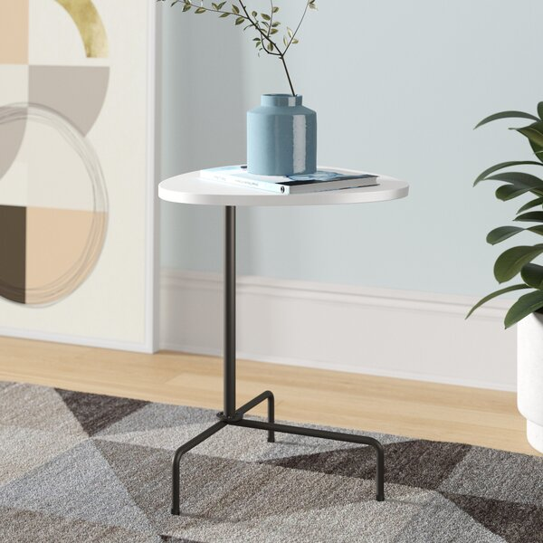Hoss Pedestal End Table By Foundstone™