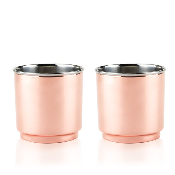Summit Double Walled Stainless Steel Tumblers (Set of 2) by Viski