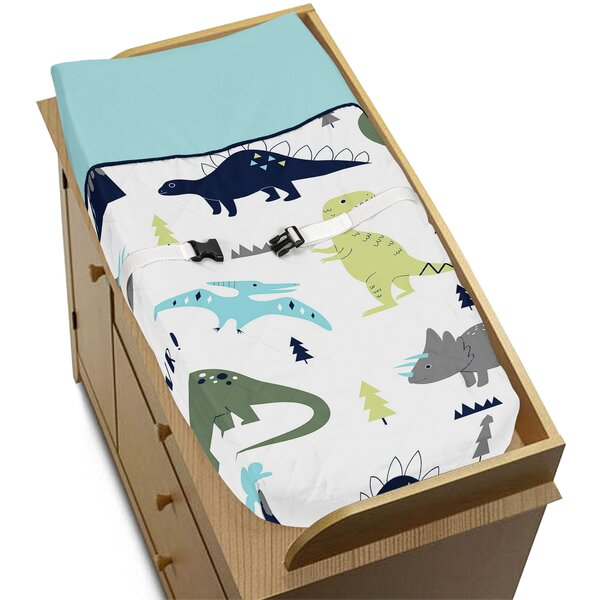 Mod Dinosaur Changing Pad Cover by Sweet Jojo Designs