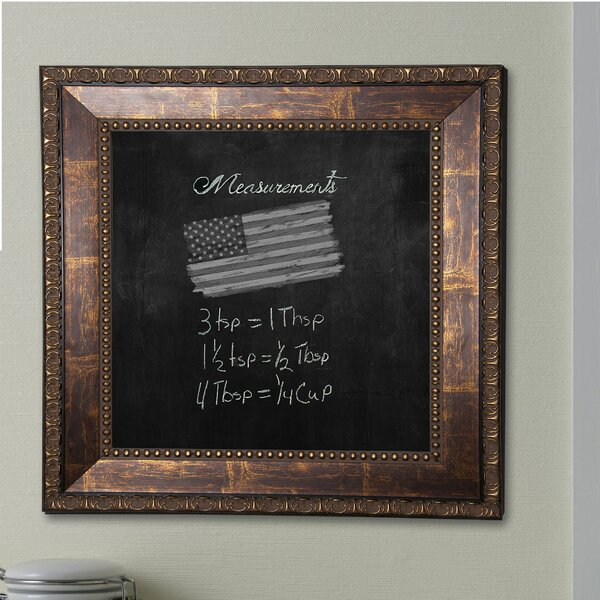 Roman Copper Wall Mounted Chalkboard by Rayne Mirrors