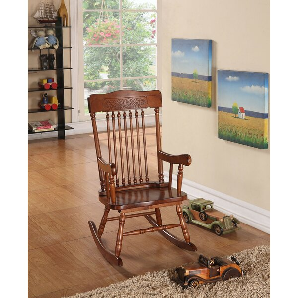 Kensa Rocking Chair By Harriet Bee