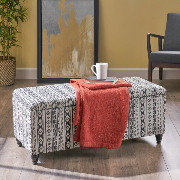 Whitehead Storage Ottoman by World Menagerie