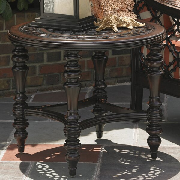 Royal Kahala Metal Side Table by Tommy Bahama Outdoor