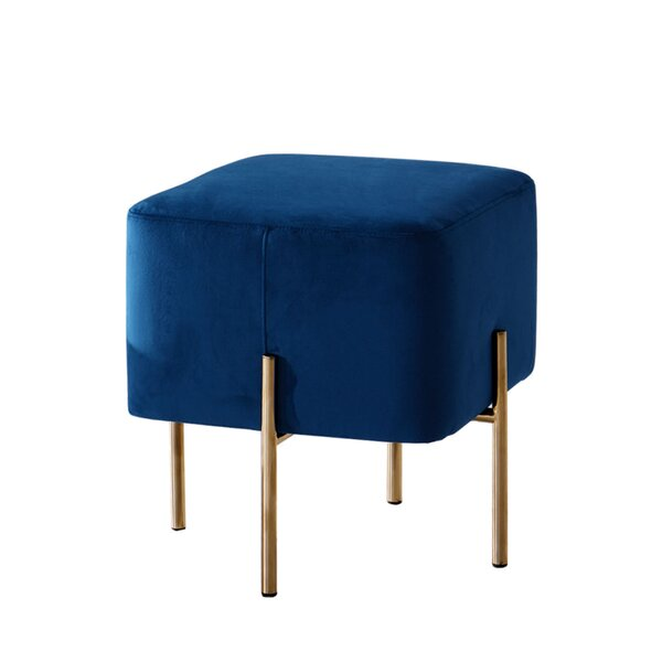 Zoe Cube Ottoman by Diamond Sofa